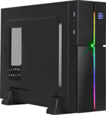 Корпус AeroCool Playa Slim Black