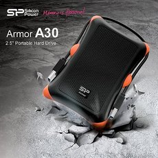 Внешний жесткий диск 1Tb Silicon Power Armor A30 Black (SP010TBPHDA30S3K)