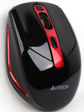 Мышь A4Tech G11-590FX-2 Black/Red USB