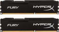 Оперативная память 8Gb DDR-III 1600MHz Kingston HyperX Fury (HX316C10FBK2/8) (2x4Gb KIT)