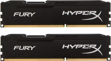 Оперативная память 8Gb DDR-III 1333MHz Kingston HyperX Fury (HX313C9FBK2/8) (2x4Gb KIT)
