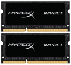 Оперативная память 8Gb DDR-III 1600MHz Kingston HyperX Impact SO-DIMM (HX316LS9IBK2/8) (2x4Gb KIT)