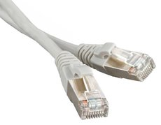 Патч-корд Hyperline PC-LPM-STP-RJ45-REV-RJ45-C5e-1M-LSZH-GY
