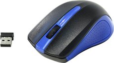 Мышь Oklick 485MW Black/Blue USB
