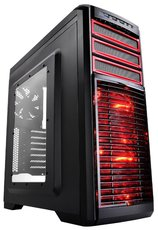 Корпус DeepCool KENDOMEN Red Black