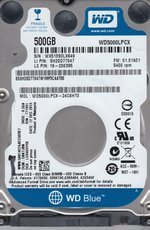 Жсткий диск 500Gb SATA-III Western Digital Blue (WD5000LPCX)
