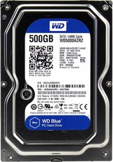 Жсткий диск 500Gb SATA-III Western Digital Blue (WD5000AZRZ)