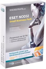 ESET NOD32 SMALL Business Pack newsale for 10 user (NOD32-SBP-NS-CARD-1-10)
