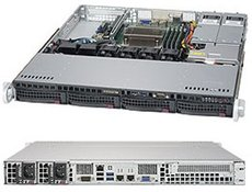 Серверная платформа SuperMicro SYS-5019S-MR