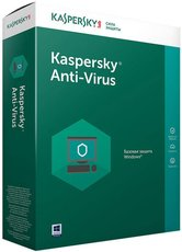 Kaspersky Anti-Virus Russian Edition. 2-Desktop 1 year Base Box (KL1171RBBFS)