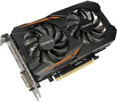 Видеокарта nVidia GeForce GTX1050 Ti Gigabyte PCI-E 4096Mb (GV-N105TOC-4GD)