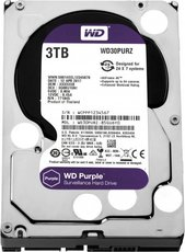 Жсткий диск 3Tb SATA-III Western Digital Purple (WD30PURZ)
