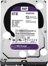 Жсткий диск 6Tb SATA-III Western Digital Purple (WD60PURZ)