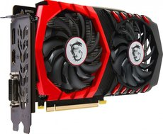 Видеокарта nVidia GeForce GTX1050 Ti MSI PCI-E 4096Mb (GTX 1050 Ti GAMING 4G)