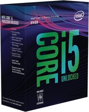 Процессор Intel Core i5 - 8600K BOX (без кулера)