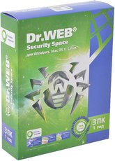 Dr.Web Security Space (AHW-B-12M-3-A2(A3)/BHW-B-12M-3-A3)