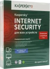 Kaspersky Internet Security Multi-Device Russian. 2-Device 1 year Renewal Box (KL1941RBBFR)