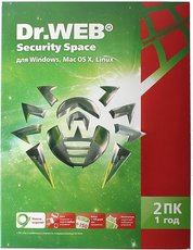 Dr.Web Security Space (BHW-B-12M-2-A3(A2))