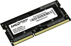 Оперативная память 4Gb DDR-III 1600Mhz AMD SO-DIMM (R534G1601S1S-U)