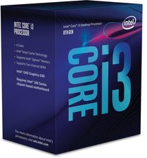 Процессор Intel Core i3 - 8300 BOX