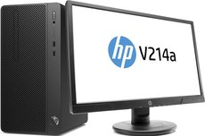 Настольный компьютер HP 290 G2 MT Bundle + 21' монитор V214a (4YV40EA)