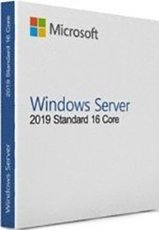 Microsoft Windows Server 2019 Standard 64-bit English DVD 10 Clt 16 Core License (P73-07701)