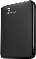 Внешний жесткий диск 1Tb Western Digital Elements Portable Black (WDBMTM0010BBK)