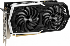 Видеокарта nVidia GeForce GTX1660 MSI PCI-E 6144Mb (GTX 1660 ARMOR 6G)