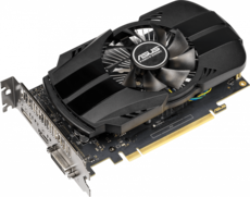 Видеокарта nVidia GeForce GTX1650 ASUS PCI-E 4096Mb (PH-GTX1650-O4G)