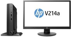 Настольный компьютер HP 260 G3 DM Bundle + 21' монитор V214a (5JP04ES)