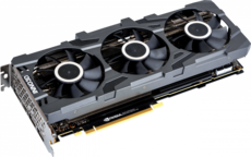 Видеокарта nVidia GeForce RTX2080 Super Inno3D Gaming OC X3 PCI-E 8192Mb (N208S3-08D6X-1180VA24)