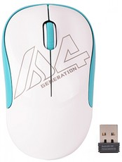 Мышь A4Tech G3-300N White/Blue