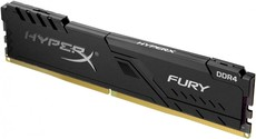 Оперативная память 8Gb DDR4 2400MHz Kingston HyperX Fury (HX424C15FB3/8)
