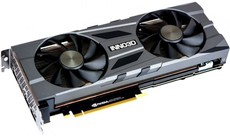 Видеокарта nVidia GeForce RTX2080 Super Inno3D Twin X2 OC PCI-E 8192Mb (N208S2-08D6X-11801167)