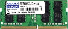 Оперативная память 16Gb DDR4 2400MHz GOODRAM SO-DIMM (GR2400S464L17/16G)
