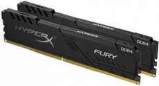 Оперативная память 8Gb DDR4 2400MHz Kingston HyperX Fury (HX424C15FB3K2/8) (2x4Gb KIT)
