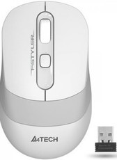 Мышь A4Tech Fstyler FG10 White/Grey
