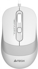 Мышь A4Tech Fstyler FM10 White/Grey