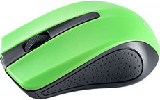 Мышь Perfeo RAINBOW Wireless Black/Green