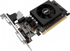 Видеокарта nVidia GeForce GT710 Palit PCI-E 1024Mb (NE5T7100HD06-2081F)