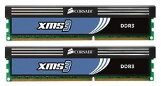 Оперативная память 4Gb DDR-III 1600MHz Corsair XMS3 (CMX4GX3M2A1600C9) (2x2Gb KIT)