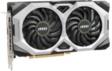 Видеокарта nVidia GeForce RTX2060 Super MSI PCI-E 8192Mb (RTX 2060 SUPER VENTUS GP OC)