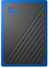 Твердотельный накопитель 500Gb SSD Western Digital My Passport Go Blue (WDBMCG5000ABT)