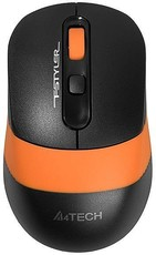 Мышь A4Tech Fstyler FG10 Black/Orange