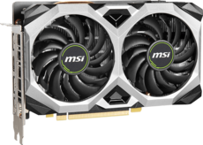 Видеокарта nVidia GeForce GTX1660 Super MSI PCI-E 6144Mb (GTX 1660 SUPER VENTUS XS)