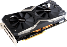 Видеокарта nVidia GeForce RTX2060 Super Inno3D Gaming OC X2 PCI-E 8192Mb (N206S2-08D6X-17311165)