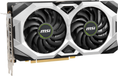Видеокарта nVidia GeForce RTX2070 MSI PCI-E 8192Mb (RTX 2070 VENTUS GP 8G)