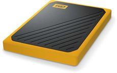 Твердотельный накопитель 1Tb SSD Western Digital My Passport Go Yellow (WDBMCG0010BYT)