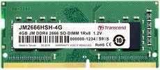 Оперативная память 4Gb DDR4 Transcend 2666Mhz SO-DIMM (JM2666HSD-4G)