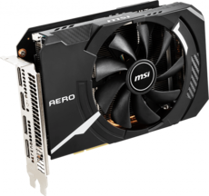 Видеокарта nVidia GeForce RTX2060 Super MSI PCI-E 8192Mb (RTX 2060 SUPER AERO ITX)
